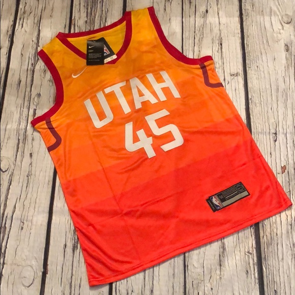 huge discount 1e29c aaecf NWT NBA Utah Mitchell #45 City Edition Jersey XXL NWT